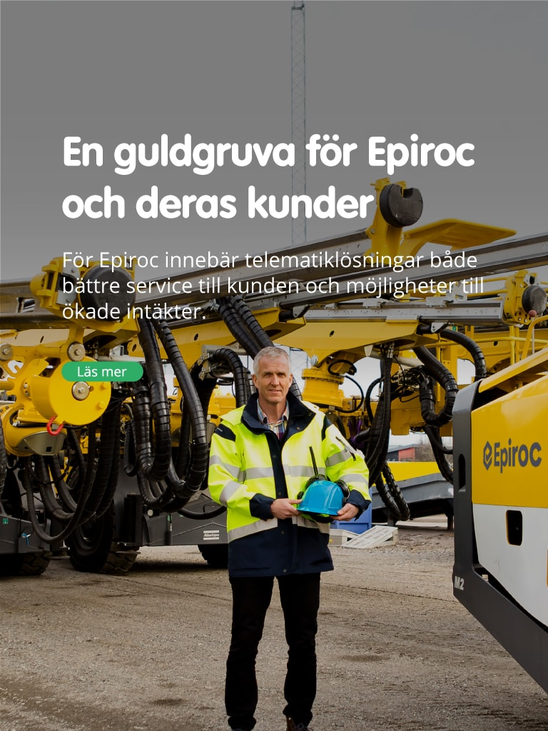 En guldgruva för Epiroc