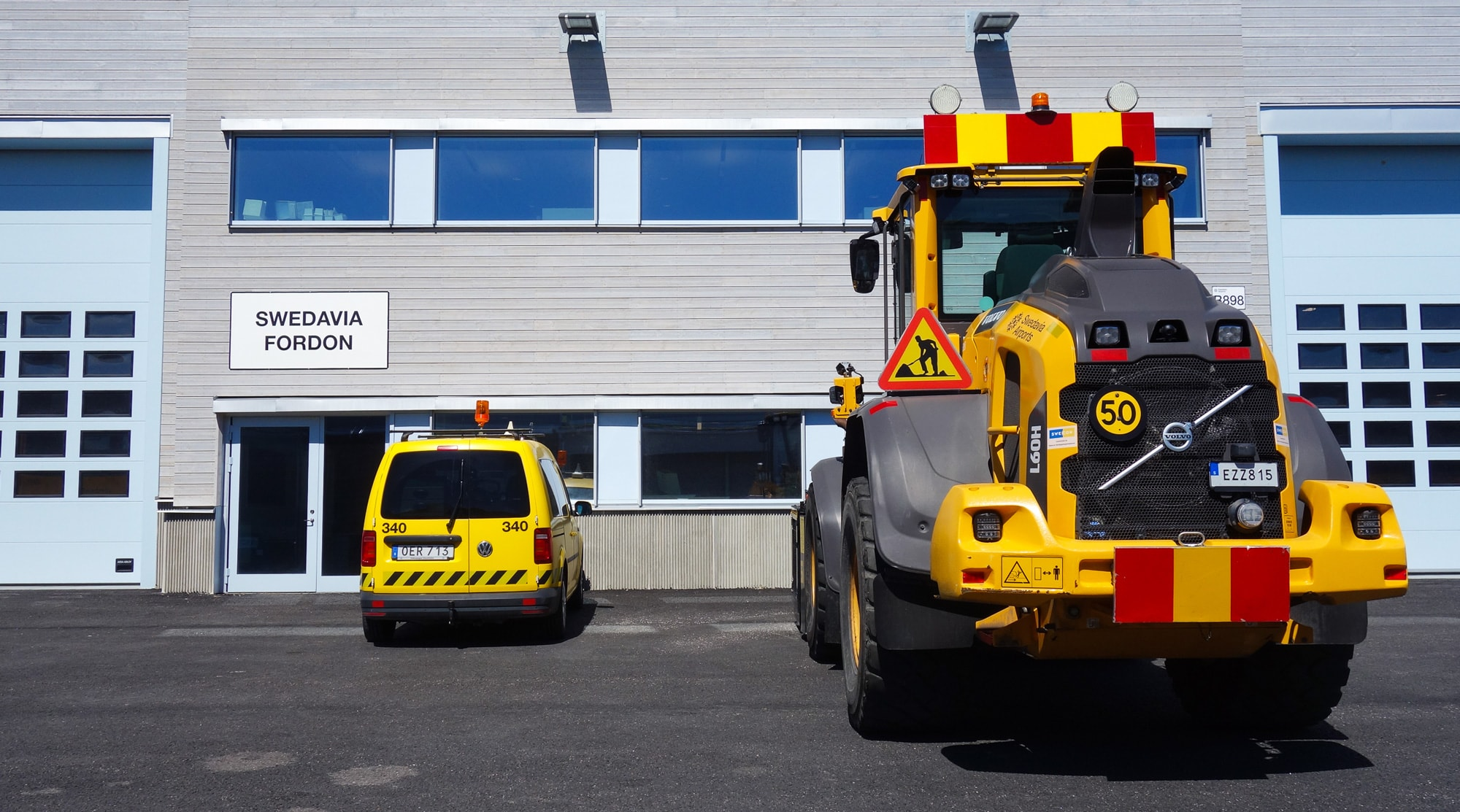 Bil och maskin hos Swedavia Fordon